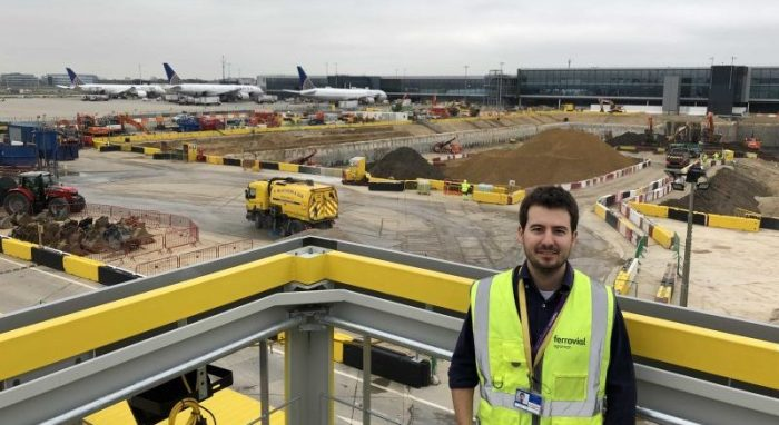 works at heathrow airport