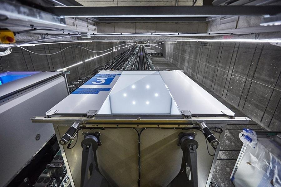 ascensores que van en horizontal