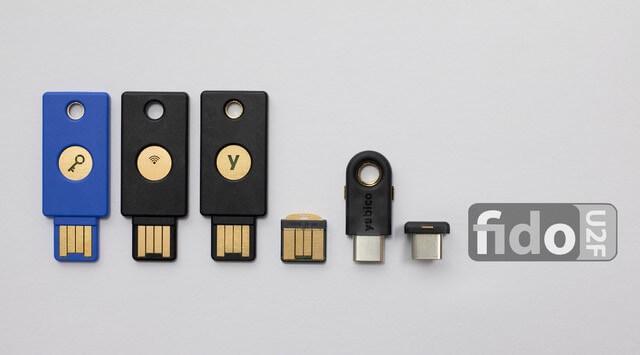 Imagen de las llaves digitales, parecidas a un usb