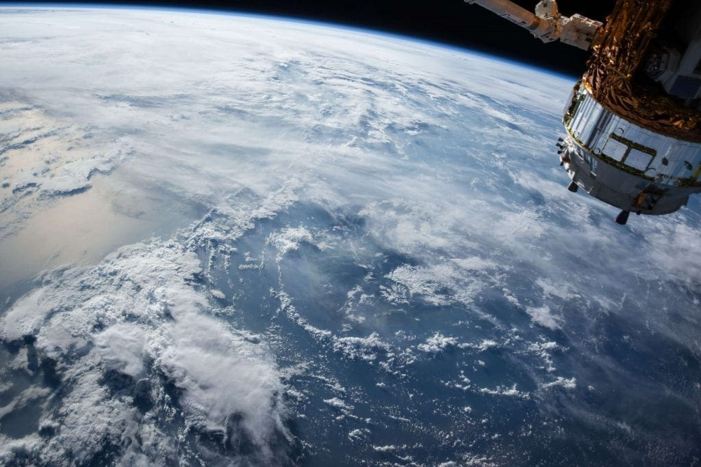 Image of the earth seen from space
