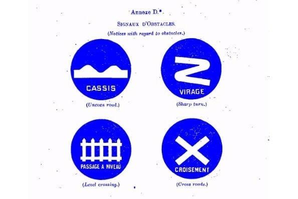 Imagen de 4 señales distintas