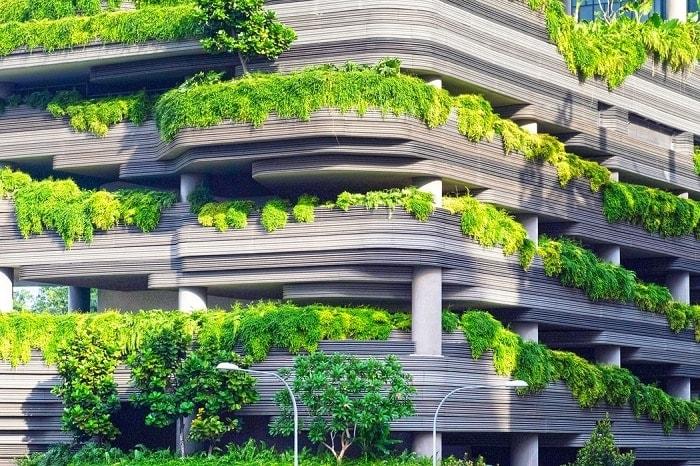 Edificio creado en 3d
