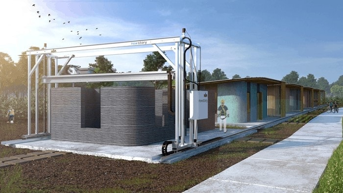 3D printing will start with small homes