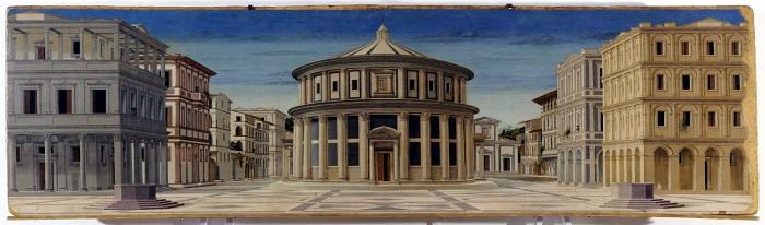 Ciudad ideal diseñada por Leonardo Da Vinci