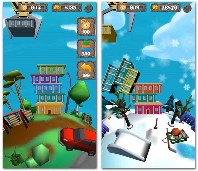 "videogame ""Tower Builder"""