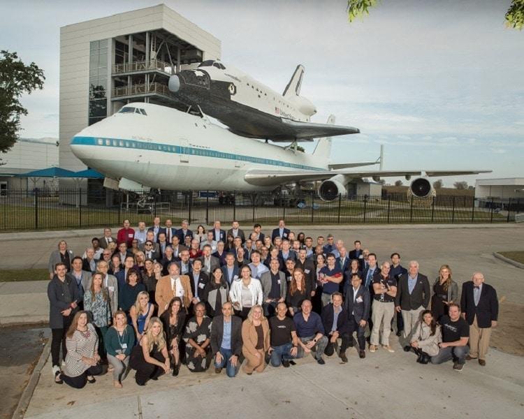 2019 Cross Industry Innovation Summit Participants. Photo Date: November 5, 2019. Location: Space Center Houston. Photographers: Robert Markowitz and David DeHoyos.