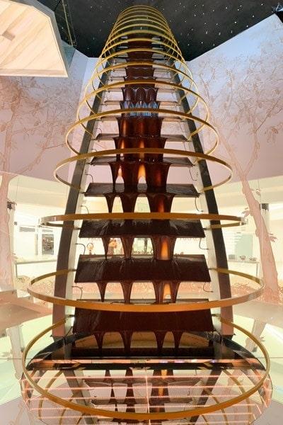 Torre de chocolates más grande del mundo