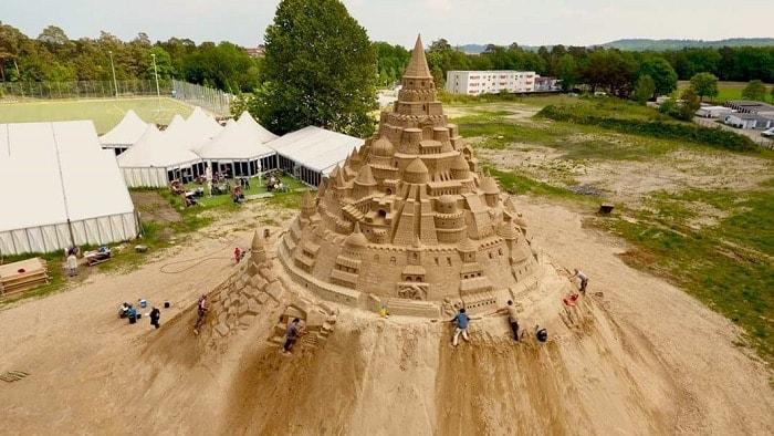 El castillo de arena más grande del mundo