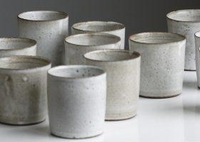 12 recipientes de cerámica