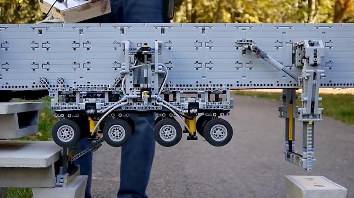 megaconstrucción Lego