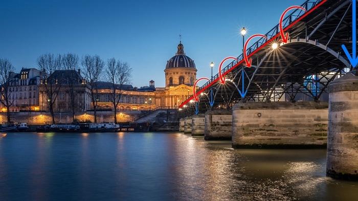 Puente de las Artes en París