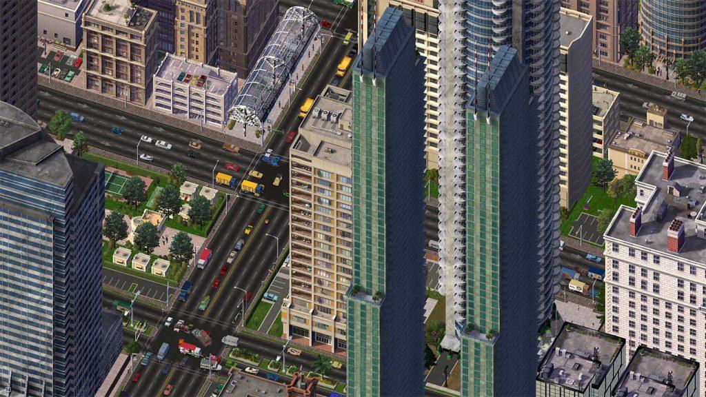 Imagen aerea de una ciudad