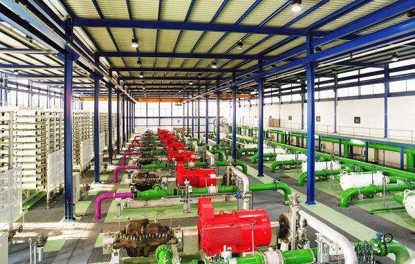 Alicante water treatment plant