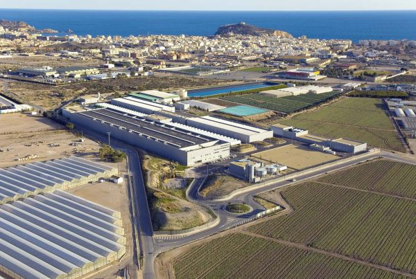 Aguilas water treatment plant