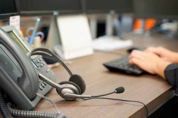 call center covid