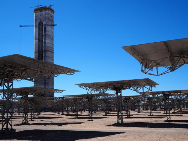 the Cerro Dominador Solar Thermal Plant