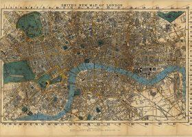 John Snow's Map Mapa epidemia John Snow