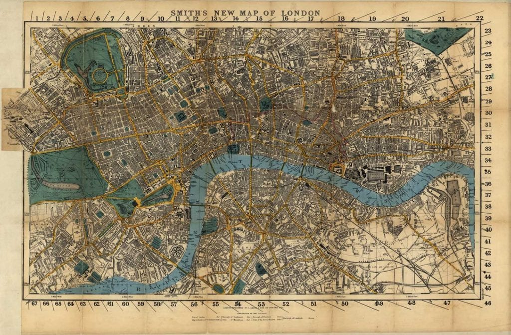 Mapa epidemia John Snow