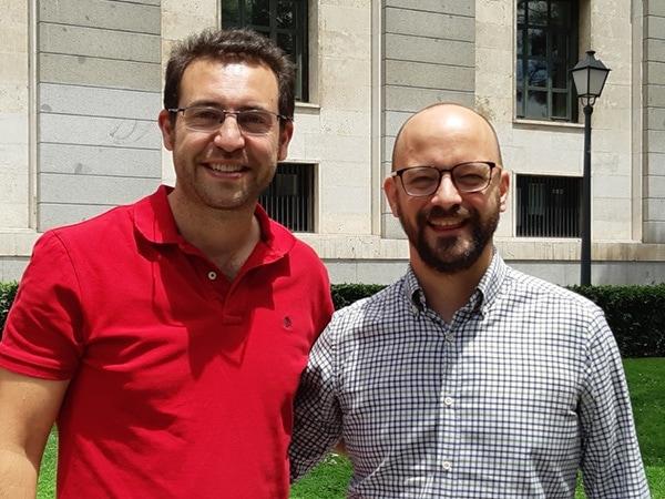 Carlos Castillo y Alvaro Fernandez