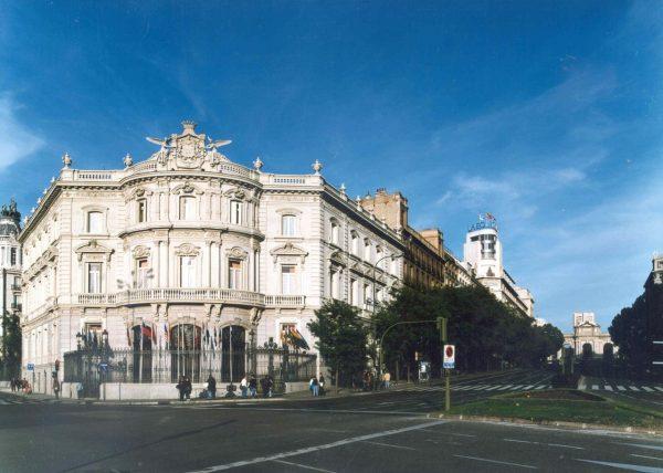 FAchada Casa de América de Madrid