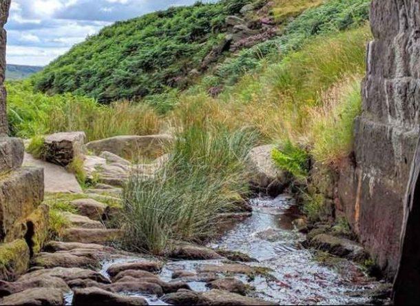 canalización de un río