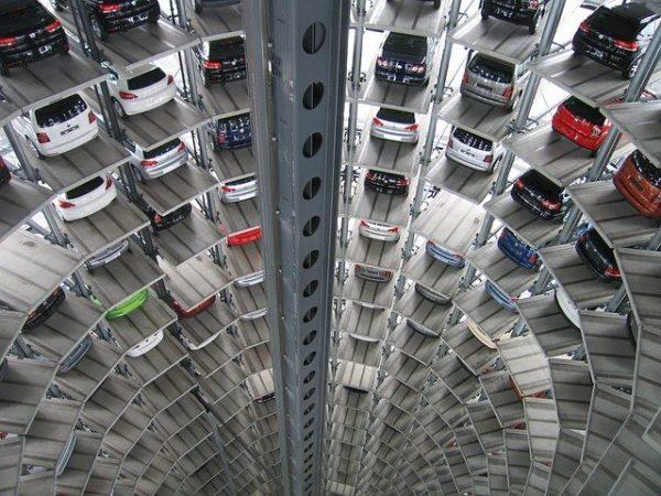 aparcamiento vertical