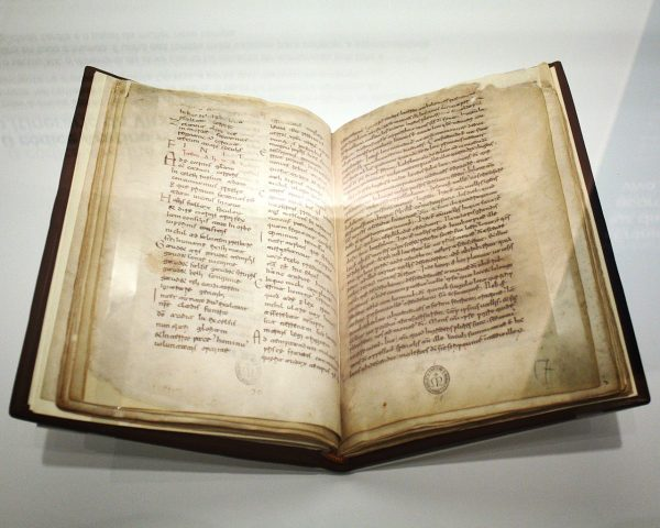 Manuscript of Egeria's travels