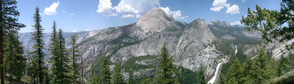 Half Dome del Parque Nacional de Yosemite