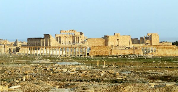 Ruinas del templo de Bel, en Palmira