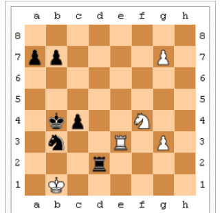 chess, layout of the game
