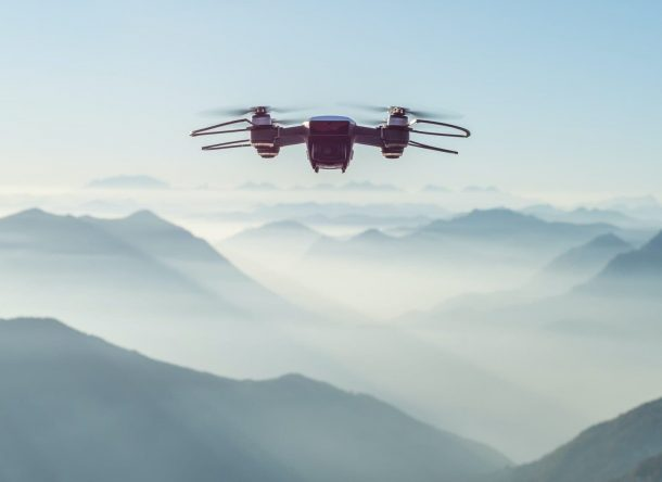 Dron vista aerea