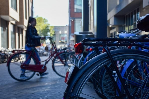 bicicletas en Merwede