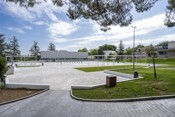 El Polideportivo de la Casa de Campo