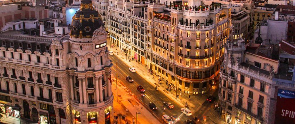 calle Gran Vía, Madrid