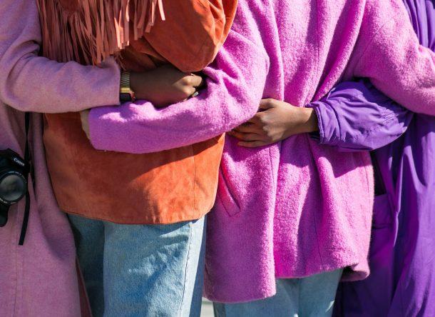 Mujeres juntas contra la violencia