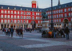 la Plaza Mayor Madrid