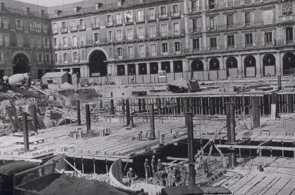 La Plaza Mayor during the Civil War