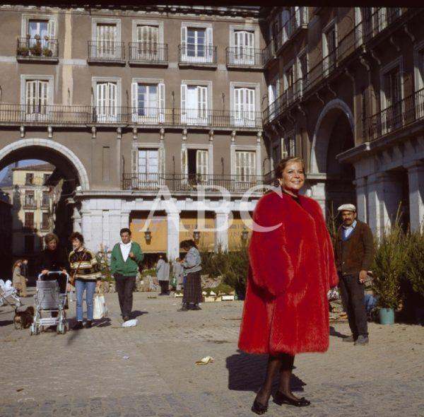 Lina Morgan at Plaza Mayor