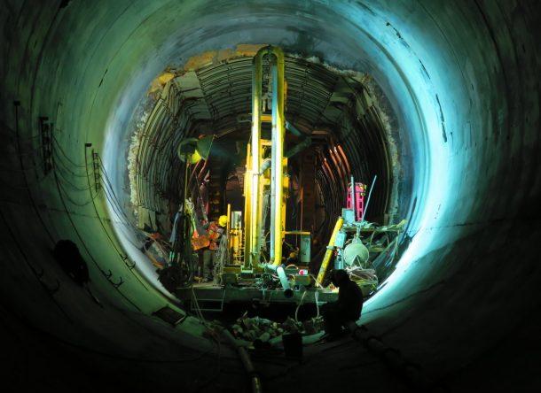 Construcción de un tunel