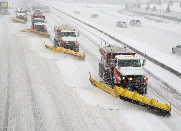 Snowplow trucks
