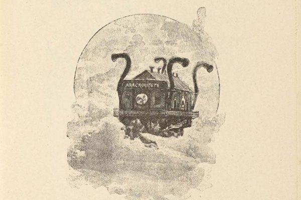 Illustration of 'El Anacronópete'
