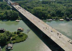 cuatro puentes sobre el Danubio