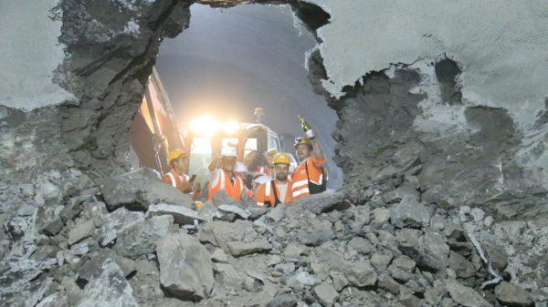 El túnel de La Paz