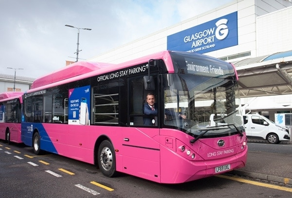 Glasgow's all-new fleet of electric vehicles