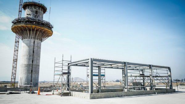 la nueva torre del Aeropuerto Jorge Chávez de Lima