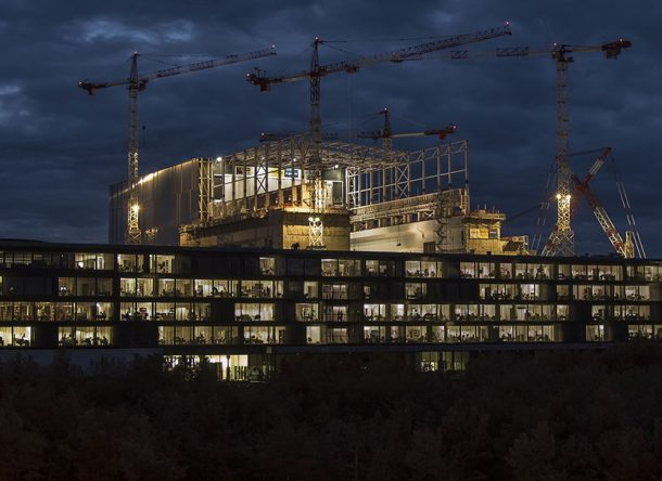 The ITER buildings