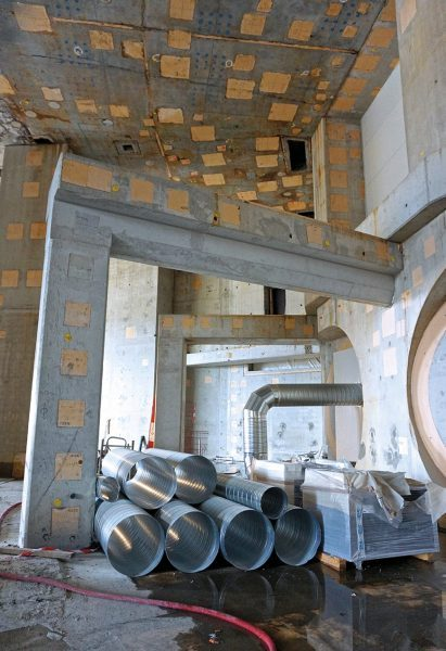 Concrete structures in Neutral Beam Cell