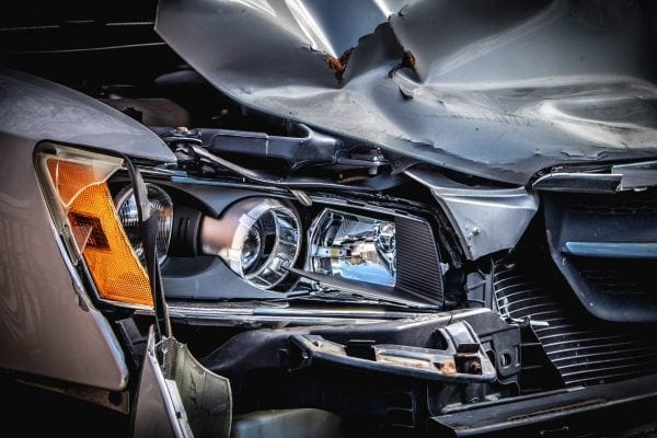 coche accidentado
