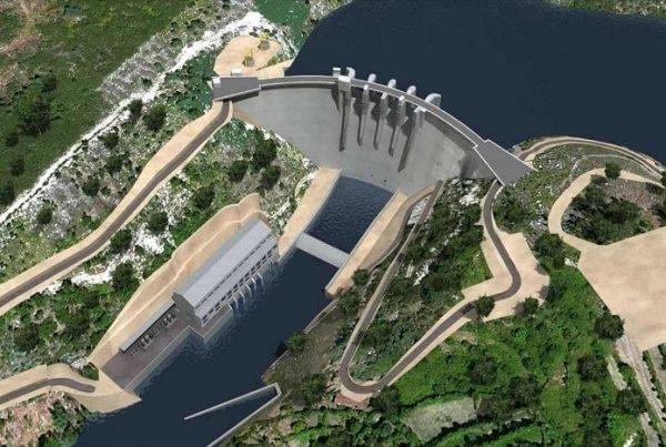 Proyecto del complejo hidroeléctrico del Támega.
