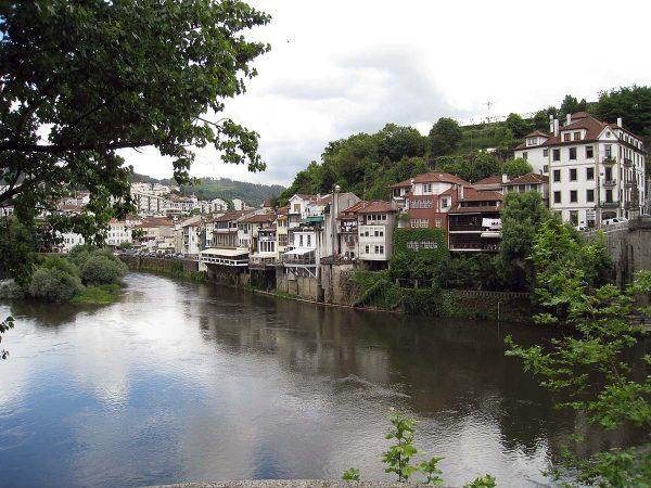 Río Támega a su paso por Amarante, en Portugal